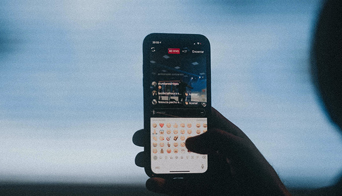 iPhoneキーボード設定
